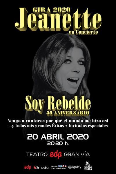 Jeanette en concierto - Soy rebelde