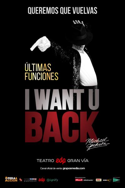 I Want U Back, homenaje a Michael Jackson