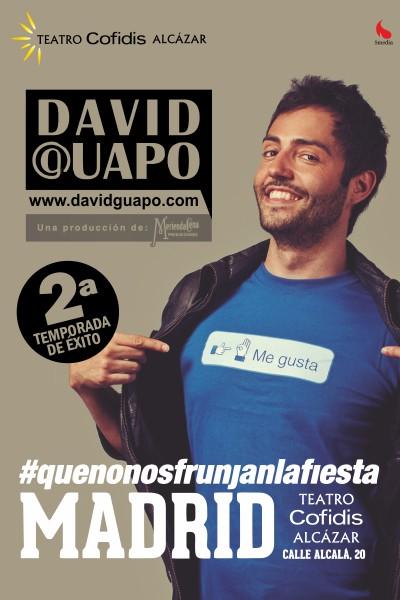 #Quenonosfrunjanlafiesta-David Guapo