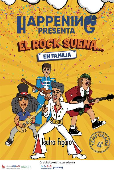 El rock suena en familia