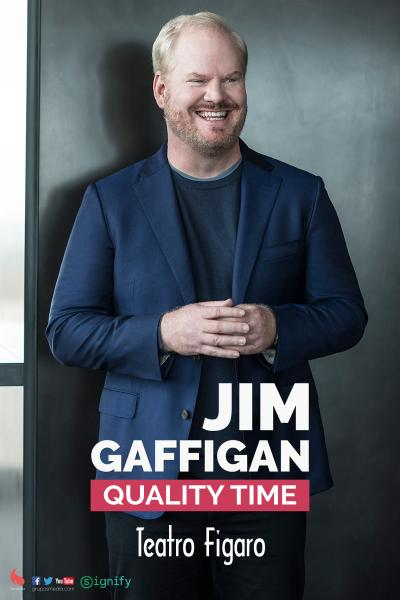 Jim Gaffigan's european tour - Espectáculo en Inglés