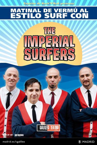 Matinal de vermú al estilo surf con The Imperial Surfers