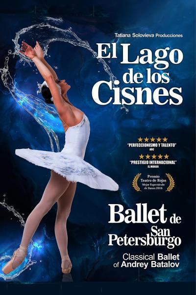 El lago de los cisnes - Cáceres - Ballet de San Petersburgo de Andrey Batalov