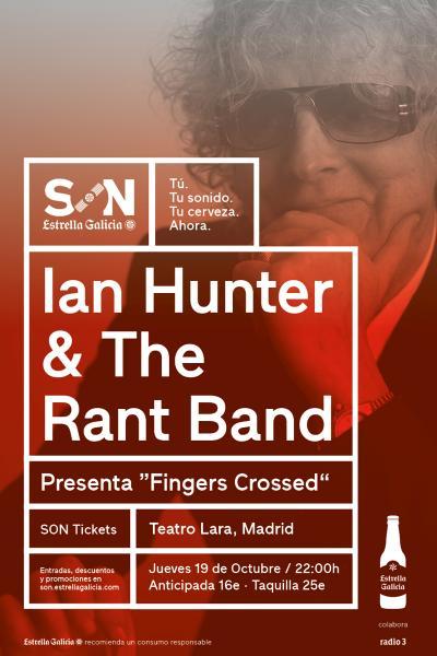 Ian Hunter & The Rant Band en Madrid | SON Estrella Galicia