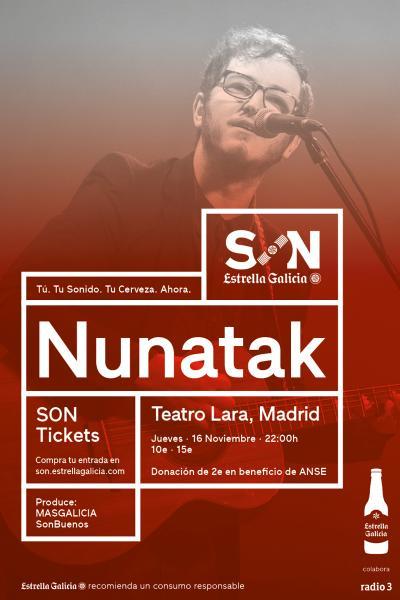 Nunatak en Madrid | SON Estrella Galicia