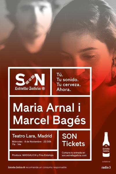 Maria Arnal i Marcel Bagés en Madrid | SON Estrella Galicia