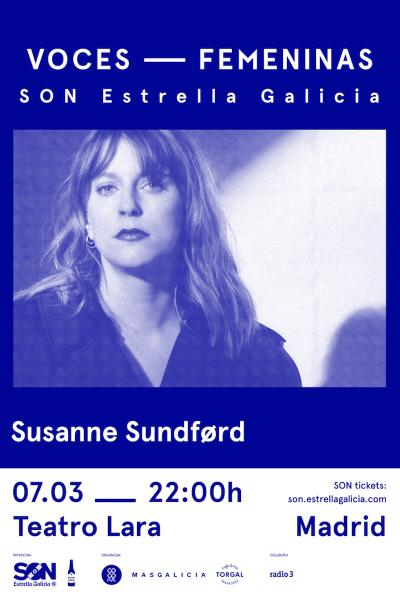 Susanne Sundfør en Madrid | SON Estrella Galicia