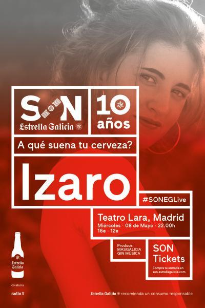 Izaro en Madrid | SON Estrella Galicia