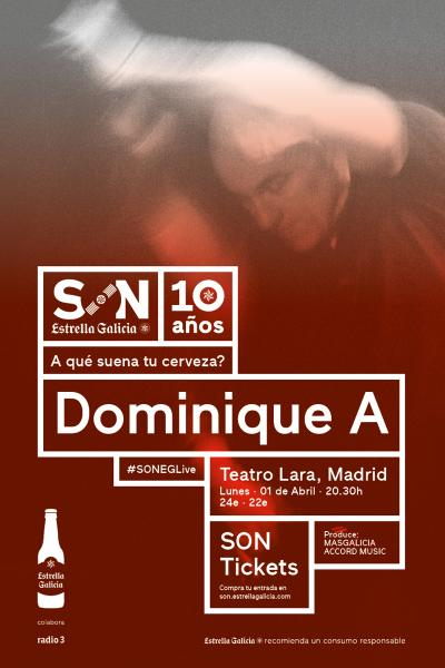 Dominique A. en Madrid | SON Estrella Galicia