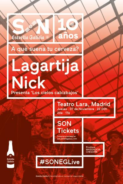 Lagartija Nick en Madrid | SON Estrella Galicia