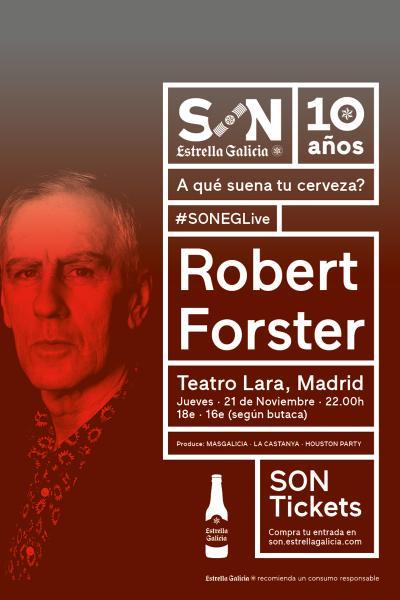 Robert Forster en Madrid | SON Estrella Galicia