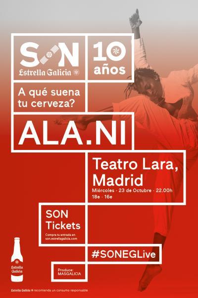 ALA.NI en Madrid   SON Estrella Galicia
