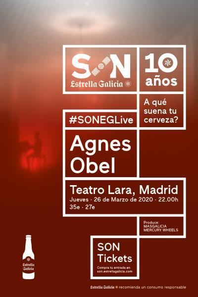 Agnes Obel en Madrid   SON Estrella Galicia