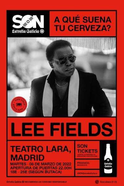 Lee Fields & The Expressions en Madrid | SON Estrella Galicia