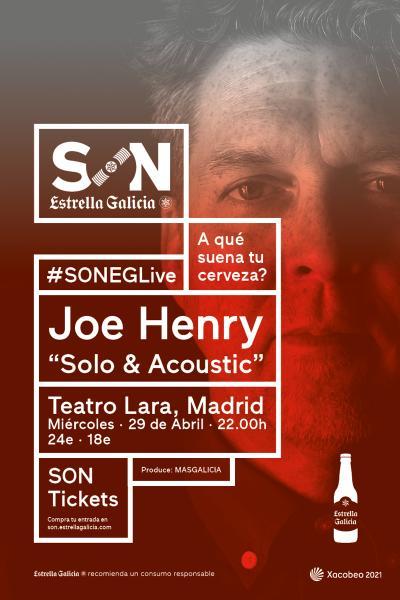 Joe Henry en Madrid | SON Estrella Galicia