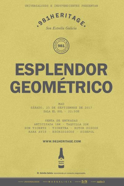 Esplendor Geométrico + Orfeon Gagarin en Madrid | 981Heritage