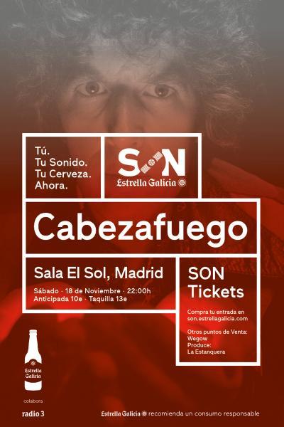 Cabezafuego en Madrid | SON Estrella Galicia