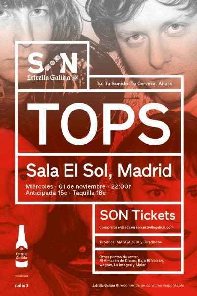 TOPS en Madrid   SON Estrella Galicia