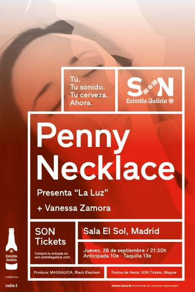 Penny Necklace en Madrid | SON Estrella Galicia