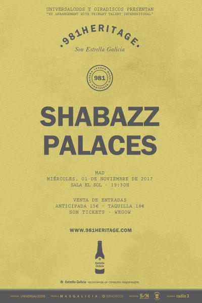 Shabazz Palaces en Madrid | 981Heritage