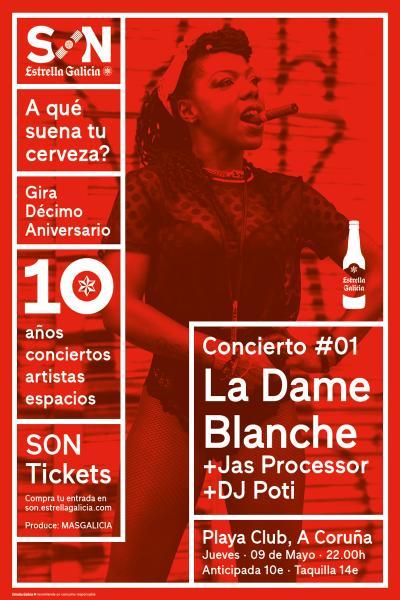 La Dame Blanche en Coruña | SON Estrella Galicia