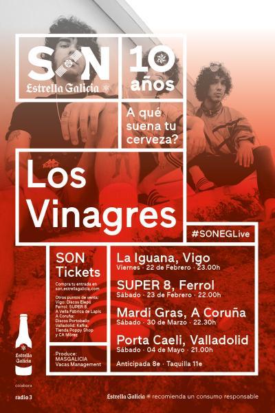 Los Vinagres en Coruña | SON Estrella Galicia