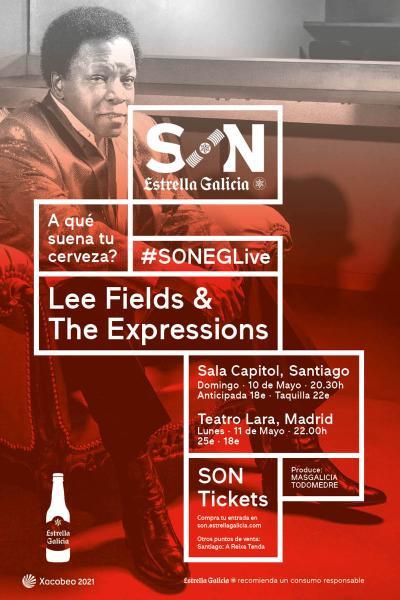Lee Fields & The Expressions en Santiago | SON Estrella Galicia