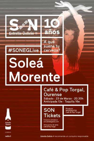 Soleá Morente en Ourense | SON Estrella Galicia