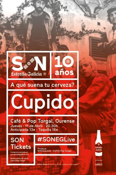 Cupido en Ourense | SON Estrella Galicia