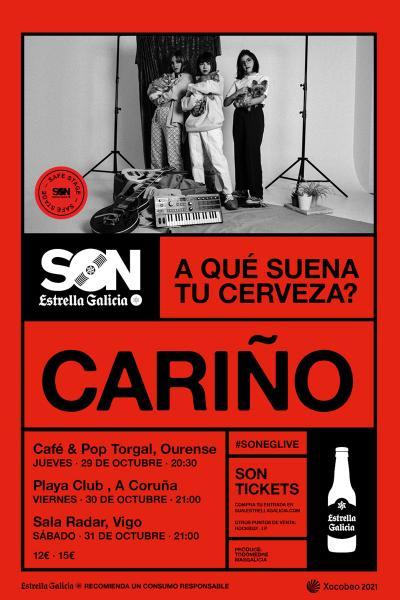 Cariño en Ourense | SON Estrella Galicia