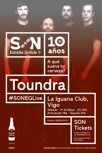 Toundra en Vigo | SON Estrella Galicia
