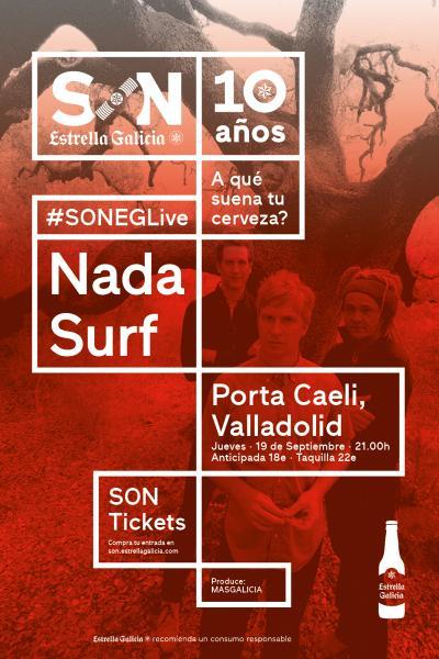 Nada Surf en Valladolid  SON Estrella Galicia