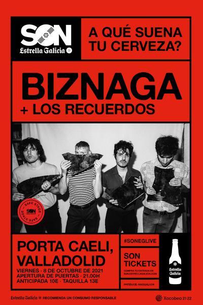 Biznaga en Valladolid   SON Estrella Galicia