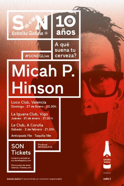 Micah P. Hinson en Valencia | SON Estrella Galicia