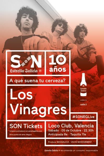Los Vinagres en Valencia | SON Estrella Galicia