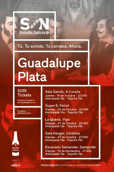 Guadalupe Plata en Santander   SON Estrella Galicia