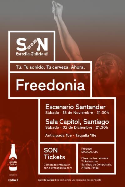 Freedonia en Santander | SON Estrella Galicia