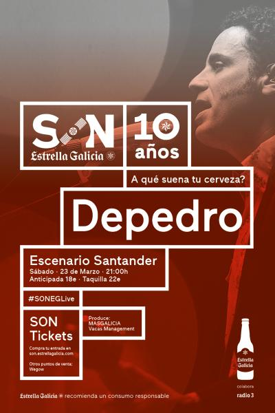 Depedro en Santander | SON Estrella Galicia