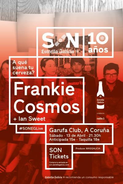 Frankie Cosmos + Ian Sweet en Coruña