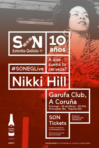 Nikki Hill en Coruña | SON Estrella Galicia