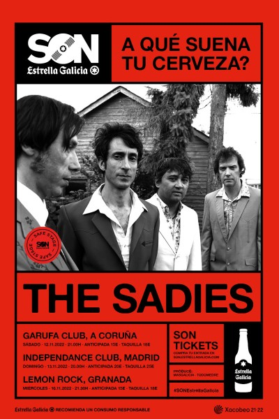 The Sadies en Coruña   SON Estrella Galicia