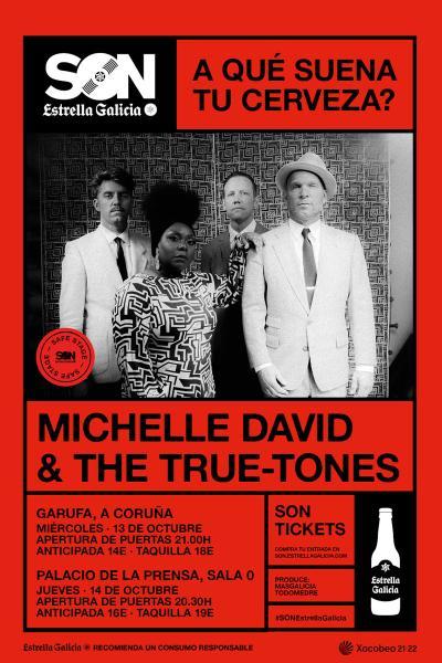 Michelle David & The True Tones en Coruña   SON Estrella Galicia