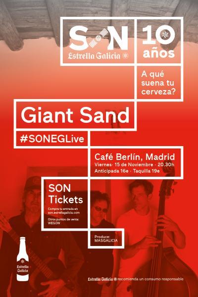 Giant Sand en Madrid | SON Estrella Galicia