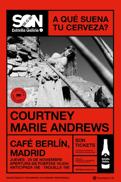 Courtney Marie Andrews en Madrid   SON Estrella Galicia