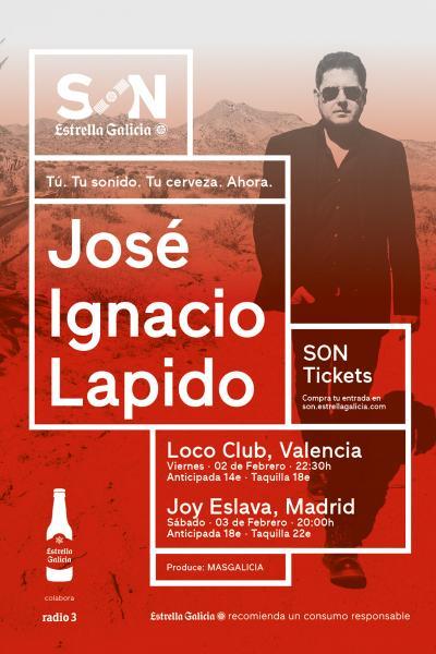 José Ignacio Lapido en Madrid | SON Estrella Galicia
