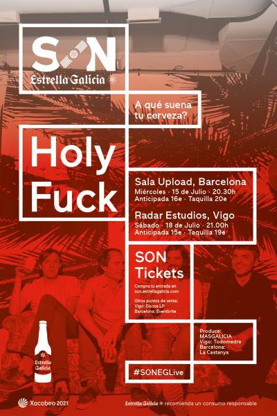 Holy Fuck en Vigo | SON Estrella Galicia