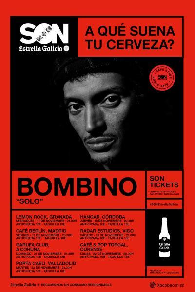 Bombino en Vigo   SON Estrella Galicia