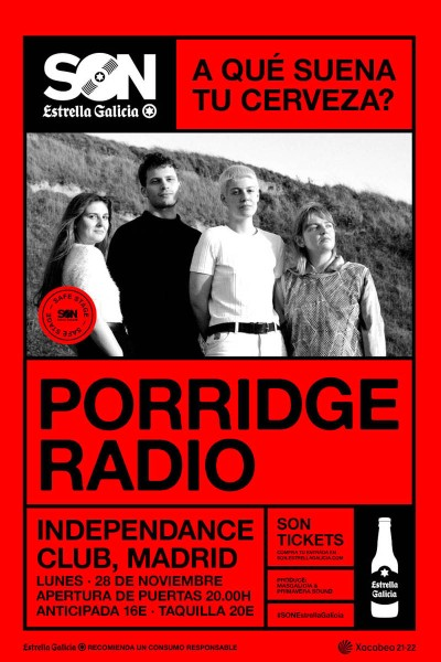 Porridge Radio en Vigo | SON Estrella Galicia