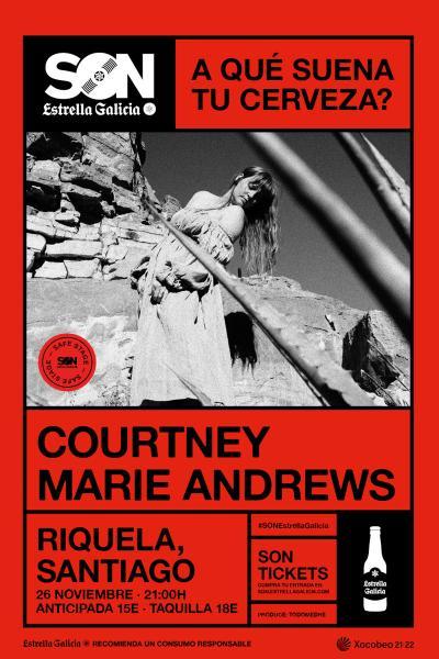 Courtney Marie Andrews en Santiago | SON Estrella Galicia