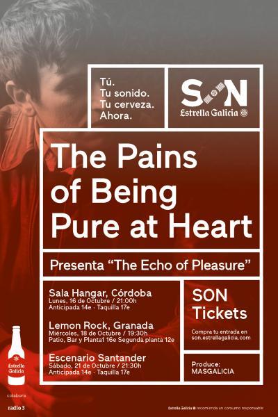 The Pains Of Being Pure At Heart en Granada | SON Estrella Galicia